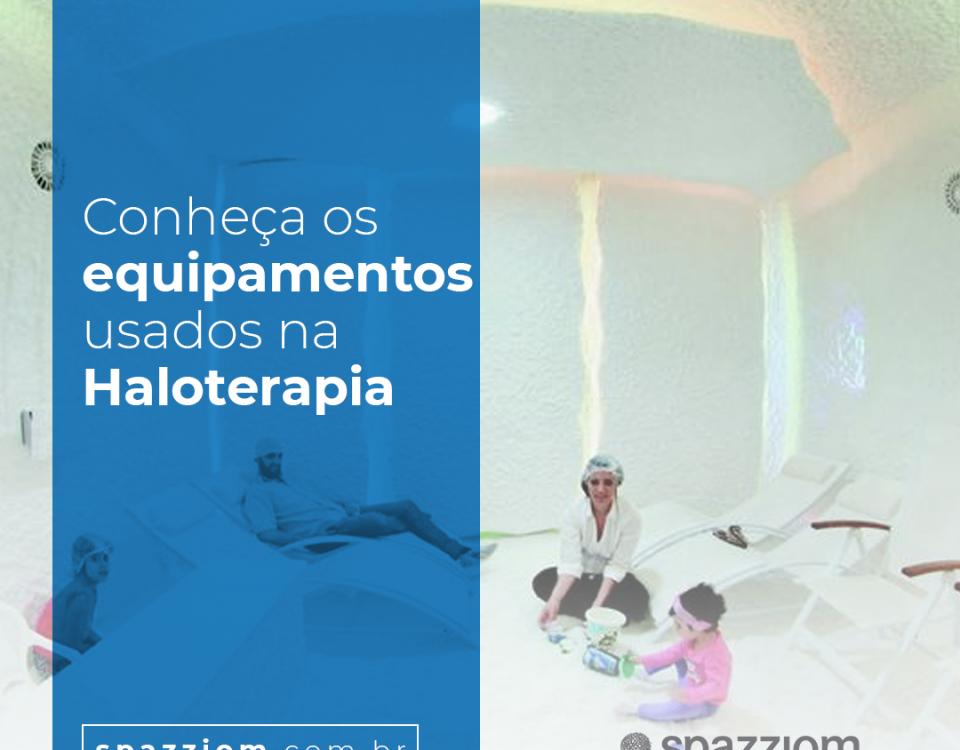 Conheça os equipamentos usados na Haloterapia