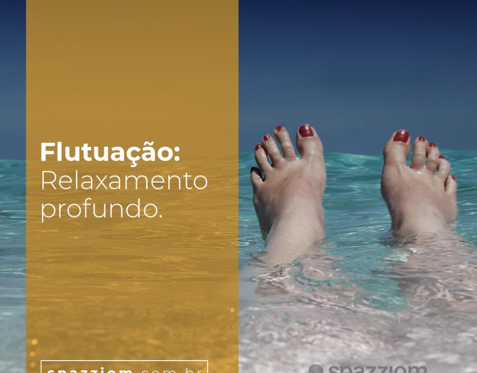 Flutuação: Relaxamento profundo